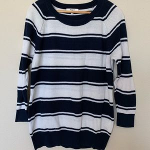 Madewell striped sweater 🌼